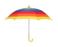 Paraguas del arco iris Foto de archivo libre de regalías