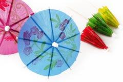 Paraguas del cóctel Imagen de archivo libre de regalías