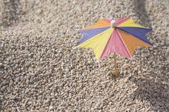 Paraguas del cóctel Fotografía de archivo libre de regalías