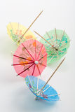 Paraguas del coctel de la bebida Imagenes de archivo