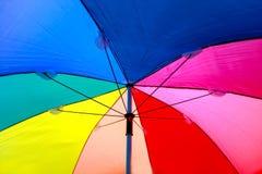 Paraguas del color Imagen de archivo