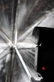 Paraguas del estudio Imágenes de archivo libres de regalías