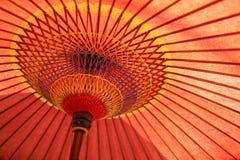 Paraguas del papel japonés Imagen de archivo libre de regalías