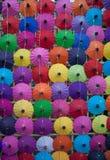 Paraguas hecho a mano Chiang Mai Thailand Fotos de archivo libres de regalías