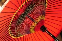 Paraguas japonés Fotografía de archivo libre de regalías