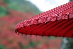 Paraguas japonés Foto de archivo libre de regalías
