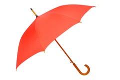Paraguas rojo Fotografía de archivo