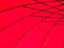 Paraguas rojo Imagenes de archivo