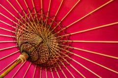 Paraguas rojo Fotos de archivo libres de regalías