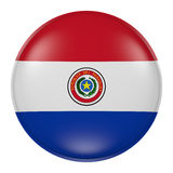 Paraguay button Stock Images