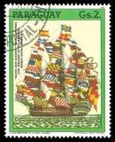 Battleship San Eugenio Royalty Free Stock Photography