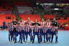 Paraguay nationellt futsal lag Arkivfoto