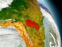 Paraguay vom Raum Stockfoto