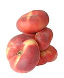 Paraguayos flat peaches Royalty Free Stock Image