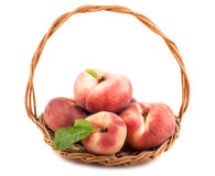 Paraguayos flat peaches Royalty Free Stock Photo