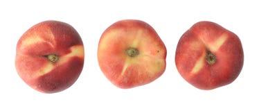 Paraguayos flat peaches Stock Photography