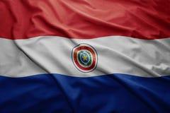 Paragwaj bandery Obraz Stock