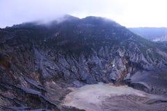 Parahu di Tangkuban Mt Fotografia Stock Libera da Diritti