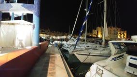 Paraiso. Barcos en la mar Royalty Free Stock Photography