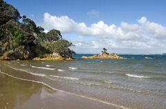 Parakerake bay in Northland New Zealand Stock Image