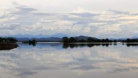 Parakrama Samudra - lago em Polonnaruwa - Sri Lanka fotos de stock