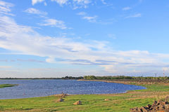 Parakrama Samudra, Polonnaruwa Sri Lanka royalty free stock image
