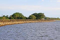 Parakrama Samudra, Polonnaruwa Sri Lanka stock images