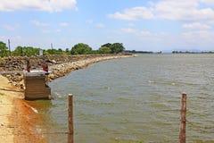 Parakrama Samudra, Polonnaruwa Sri Lanka stock photography