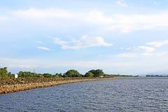 Parakrama Samudra, Polonnaruwa Sri Lanka royalty free stock images