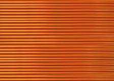 A paralela de madeira ondulada do tom da noz do fundo alinha os raios finos infinitos Imagem de Stock