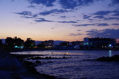 Paralia Grekland Royaltyfri Foto
