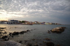 Paralia keterini Grekland Arkivfoton