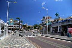 Paralimni en Chypre Images libres de droits