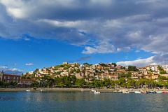 Paralio Astros przy Peloponnese, Grecja Zdjęcia Royalty Free