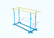 Parallel bars Royalty Free Stock Image
