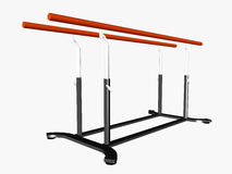 Parallel Bars Royalty Free Stock Images