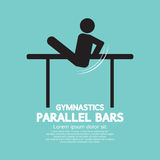 Parallel Bars Gymnastics Royalty Free Stock Photography