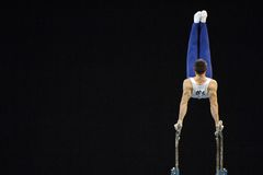 Parallel bars men2 Royalty Free Stock Photos
