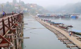 Parallel bridge Stock Photo
