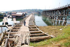 Parallel bridge Stock Images