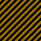Parallel Diagonal Lines. Gold sequins. Stars. The parallel Diagonal lines on the black background. Background made of Gold sequins. Mosaic sequins glitter Royalty Free Stock Image
