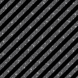 Parallel Diagonal lines. Silver sequins. Stars. Stock Image