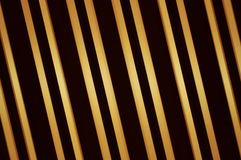 Parallel Golden Bars Royalty Free Stock Photo