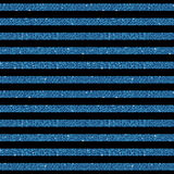 Parallel Horizontal lines. Blue sequins. Stars. The parallel horizontal lines on the black background. Background made of blue sequins. Mosaic, sequins, glitter Stock Images