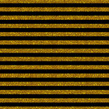 Parallel Horizontal lines. Gold sequins. Stars. Stock Images