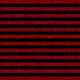 Parallel Horizontal lines. Red sequins. Stars. Royalty Free Stock Photography