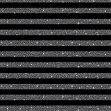 Parallel Horizontal lines. Silver sequins. Stars. Stock Photos