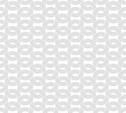 Parallel rounded weave lines seamless pattern. Stock Images
