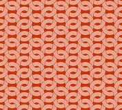 Parallel rounded weave lines seamless pattern. Royalty Free Stock Photo