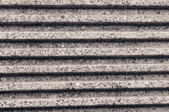 Parallel striped concrete wall of a bridge monochrome effect Stock Photos